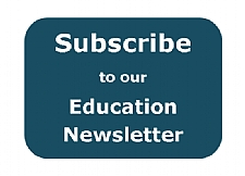 Subscribe button for Education newsletter