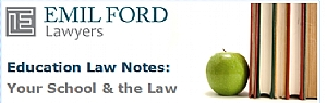 Image of an Education Law Notes Newsletter